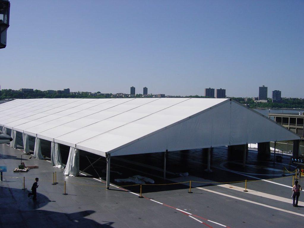 25m Tent Exterior