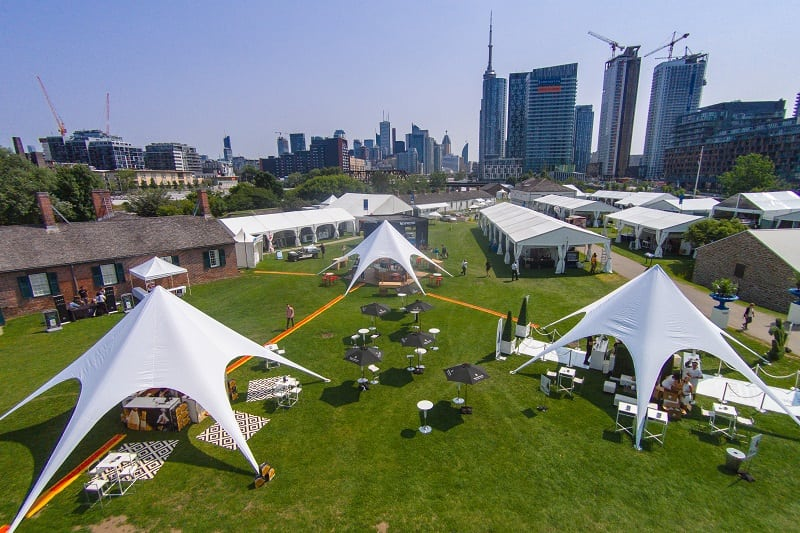 Taste of Toronto Tenting