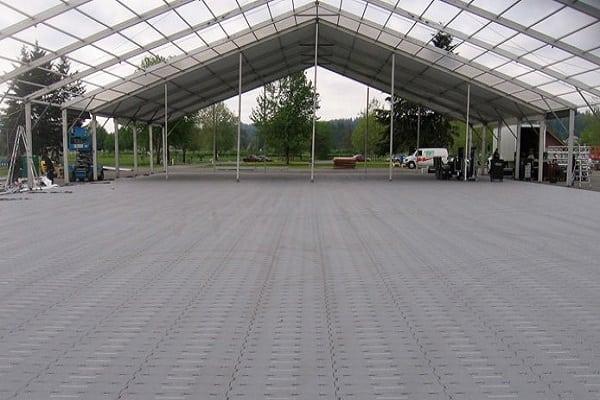temporary floor