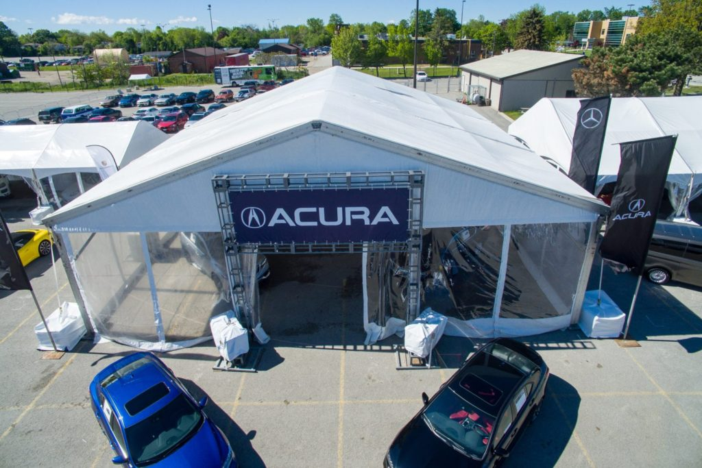 Georgian College Auto Show Regal Tent Productions - Car show tent