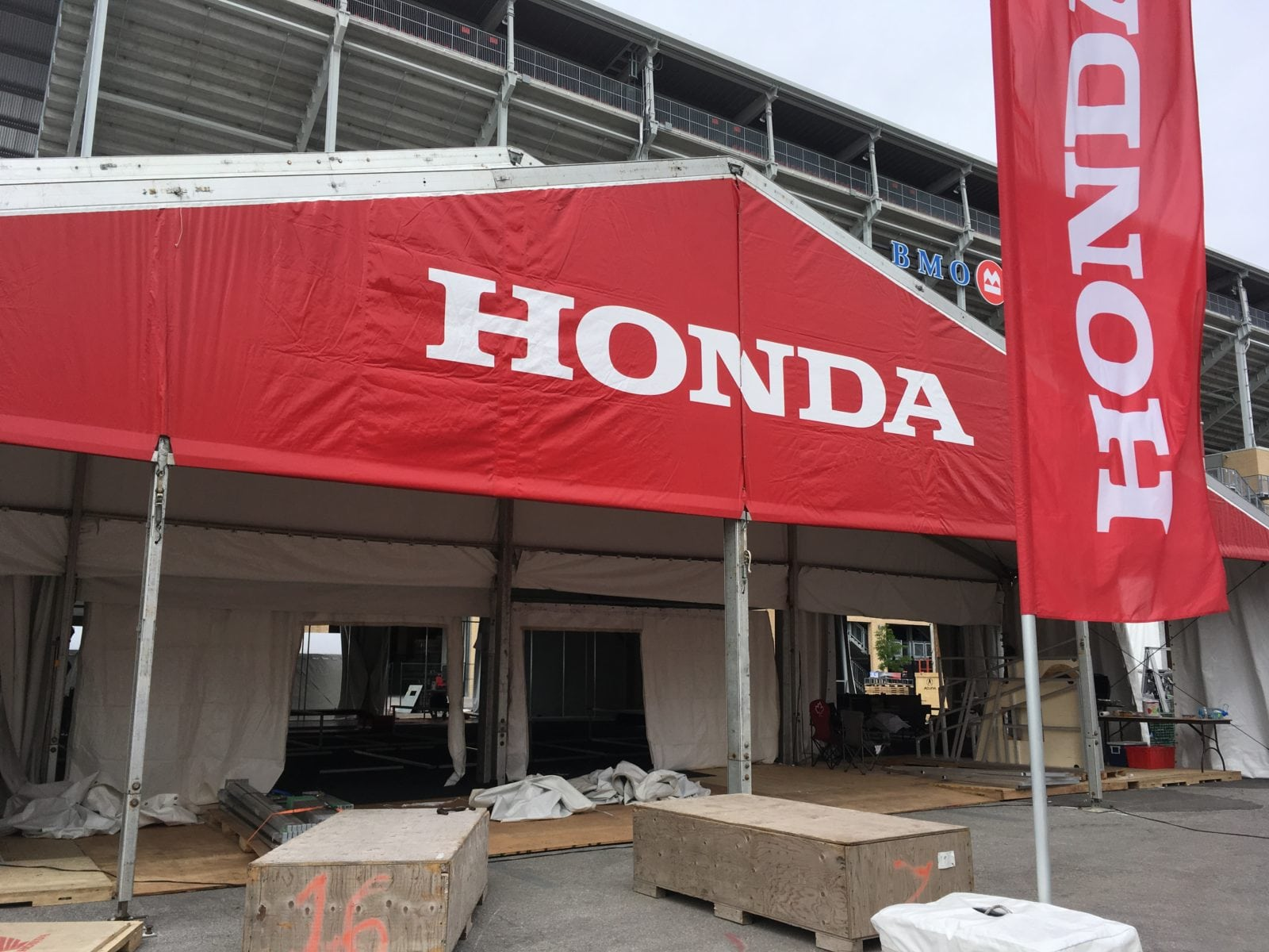 The summer is a very busy time for Regal Tent Productions and this week weu0027re working on one of our biggest jobs in July u2013 the Honda Indy! & This Week at Regal - The Honda Indy! - Regal Tent Productions