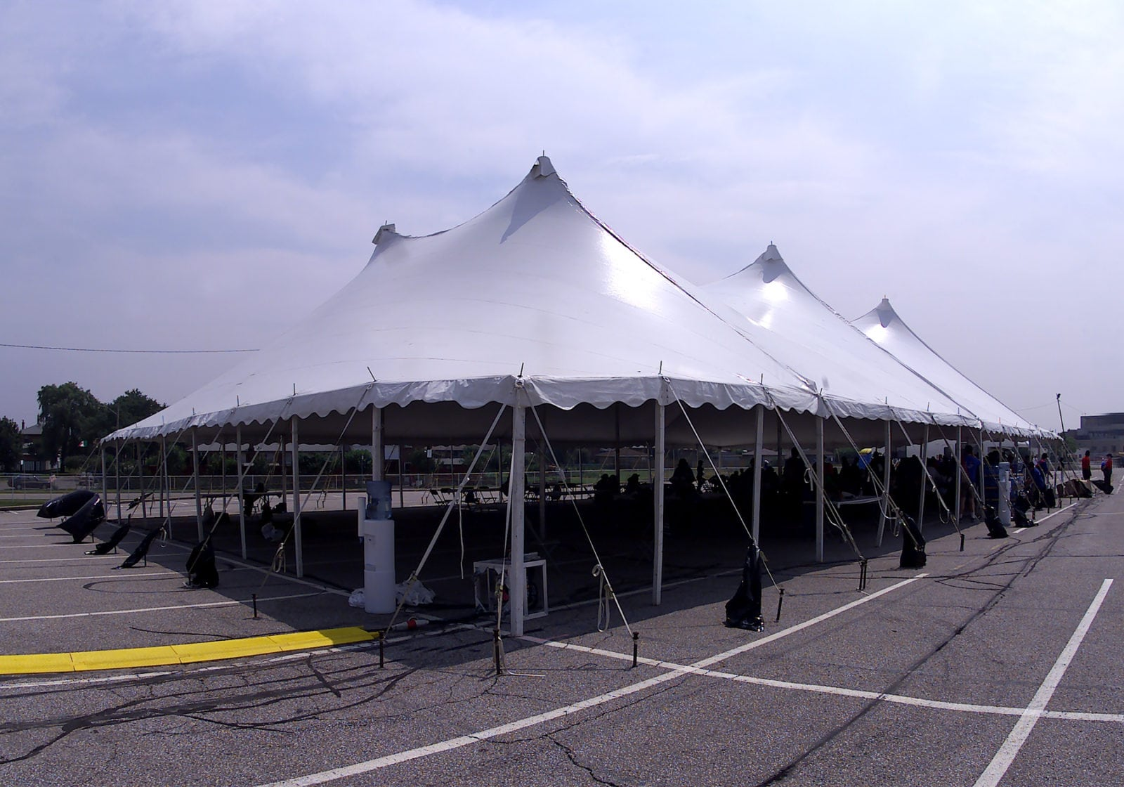 While pole tents still offer an amazing WOW factor when photographed from afar you can see from the photos above that they definitely have more ... & The Evolution of the Wedding Tent - Regal Tent Productions