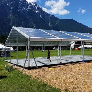 Bil-Jax Leveling Tent Flooring