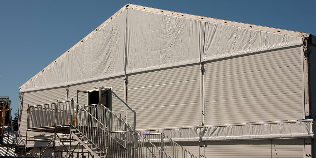 Regal Tents Insulated Hard Walls Option