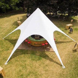 Star Shade Tent Perfect For Events