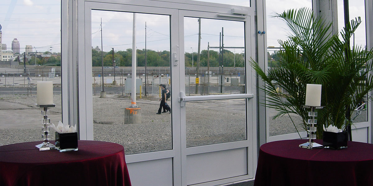 Regal Tents Door Option