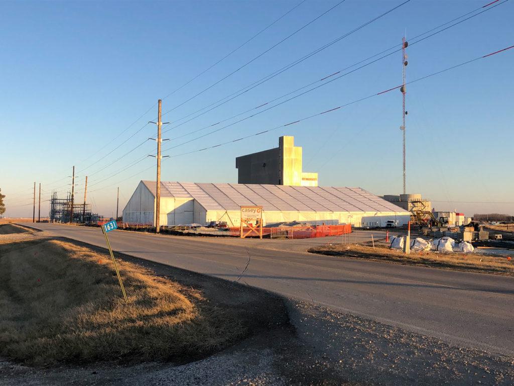 Casey Industrial Construction Tent