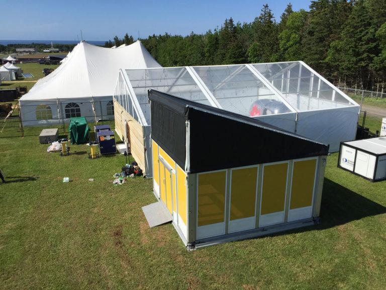 Cavendish Beach Music Festival Sponsor Tent