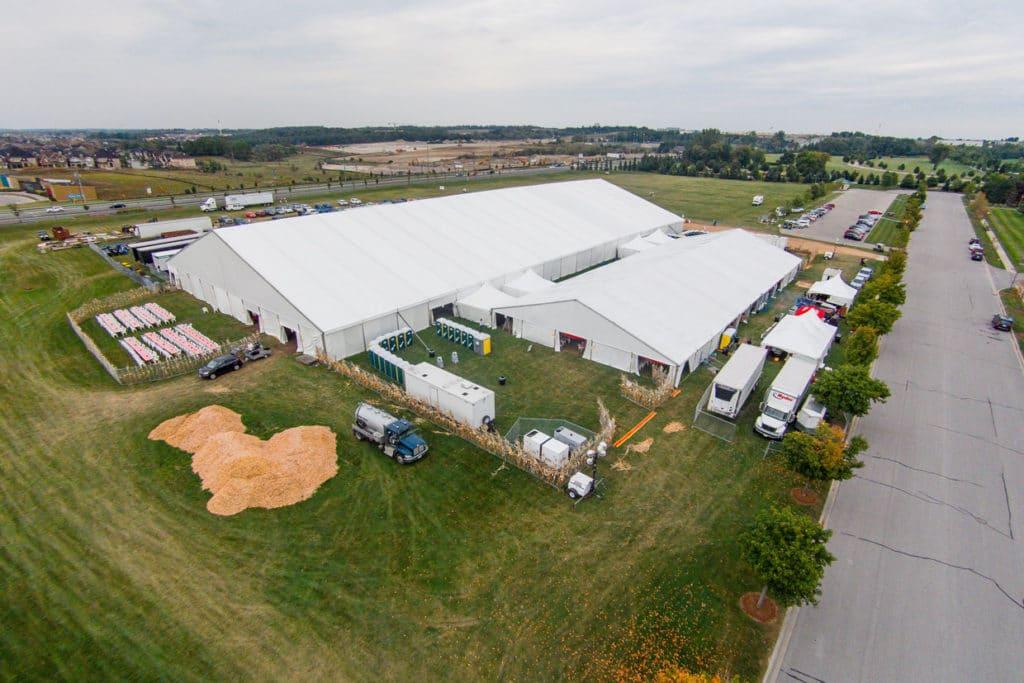 Magna Hoedown Event Tent