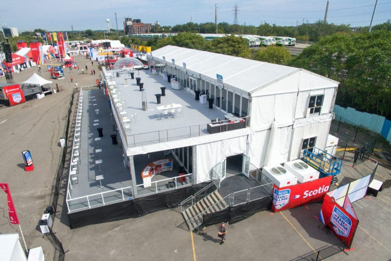 Molson Hockey House Double-Decker Tent
